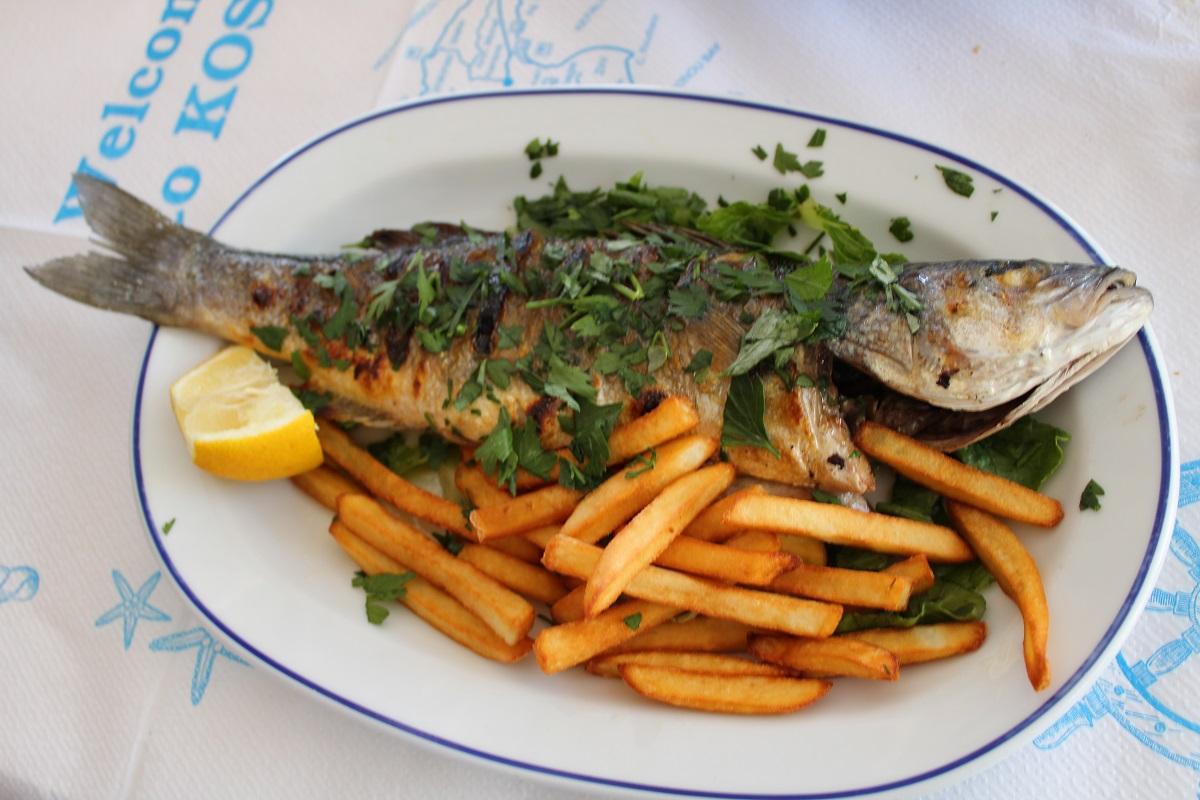 Tips voor lekkere en betaalbare restaurants op Kos Nostos vis