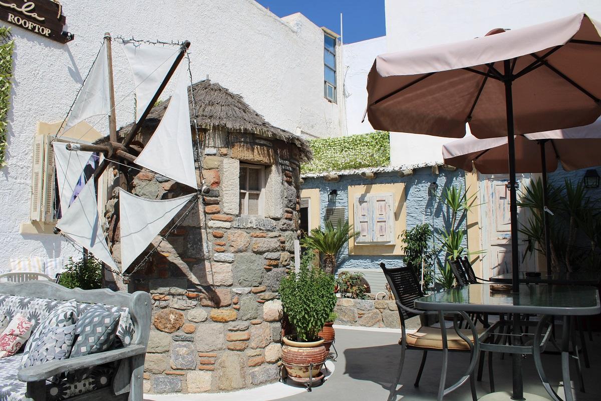 Tips voor lekkere en betaalbare restaurants op Kos Skala terras