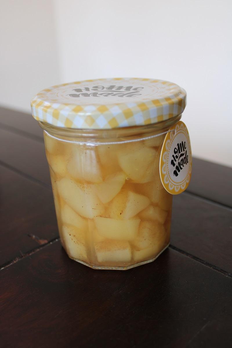 Heerlijk recept peren compote glas