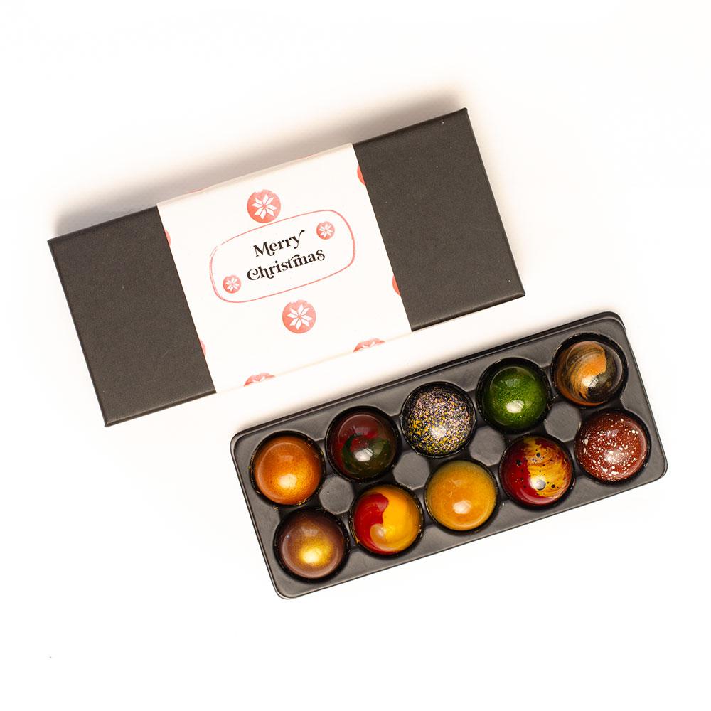Geniet van zoete feestdagen met originele chocolade cadeaus bonbons