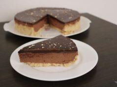Recept heerlijke chocomousse taart no bake zonder eieren
