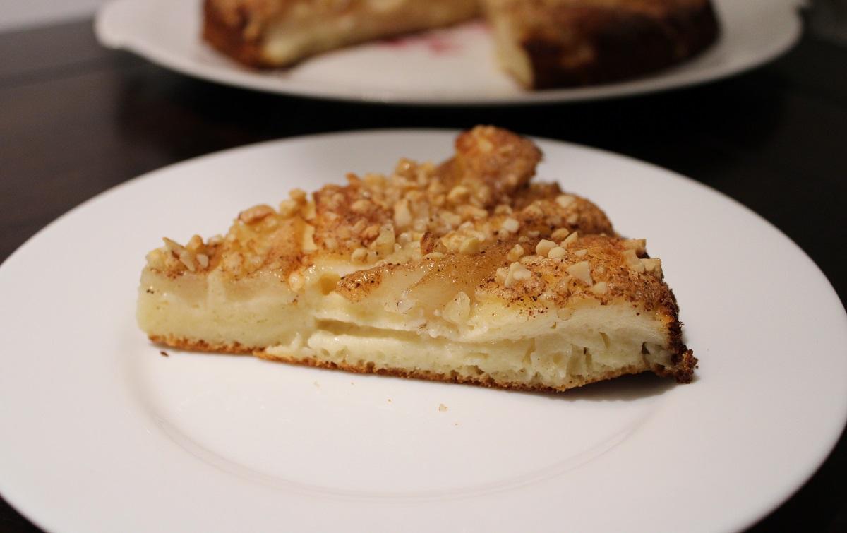 Recept peren clafoutis stukje taart