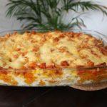 Recept vegetarische pompoen lasagne 1