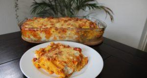 Recept vegetarische pompoen lasagne