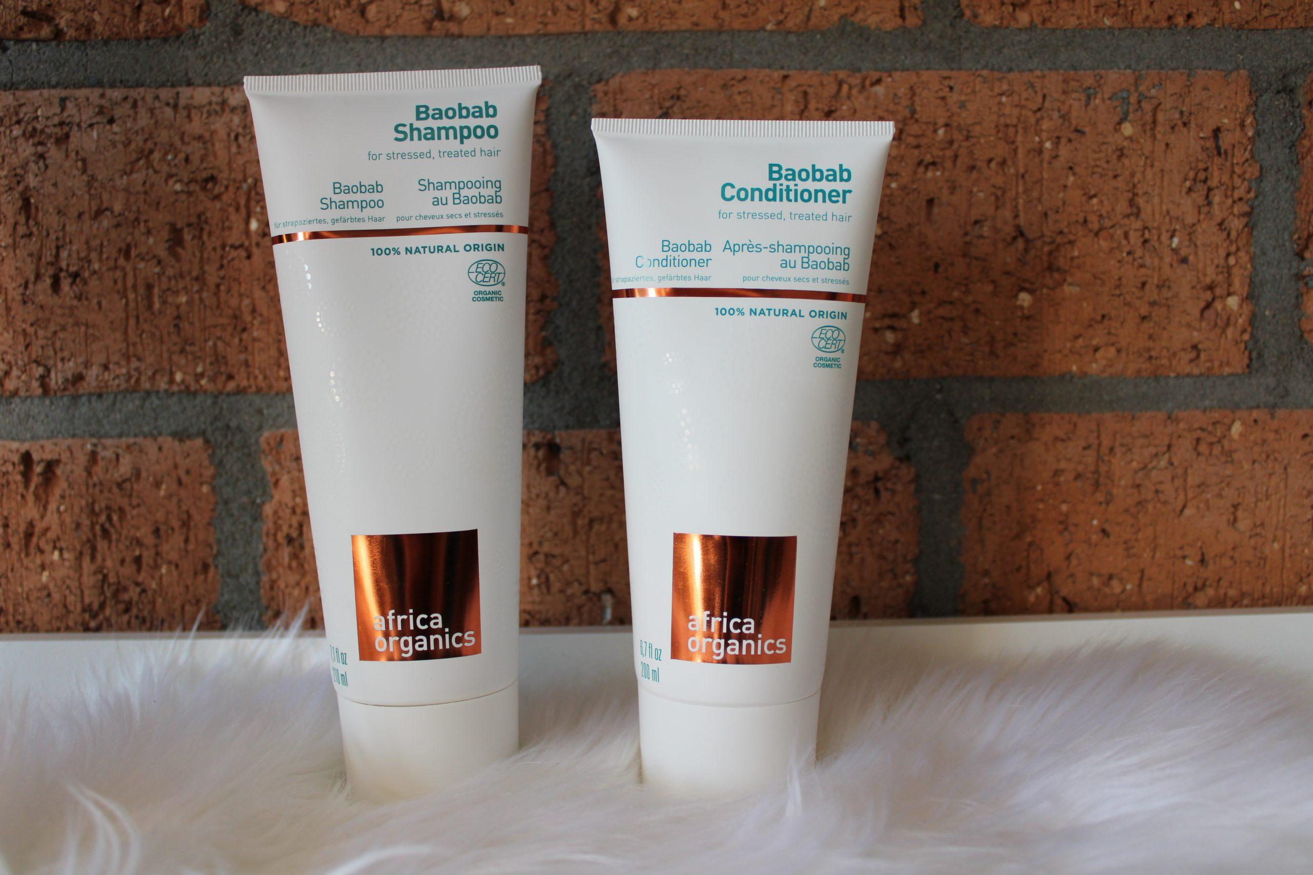 Verzorg je krullen met de natuurlijke shampoo en conditioner van Africa Organics