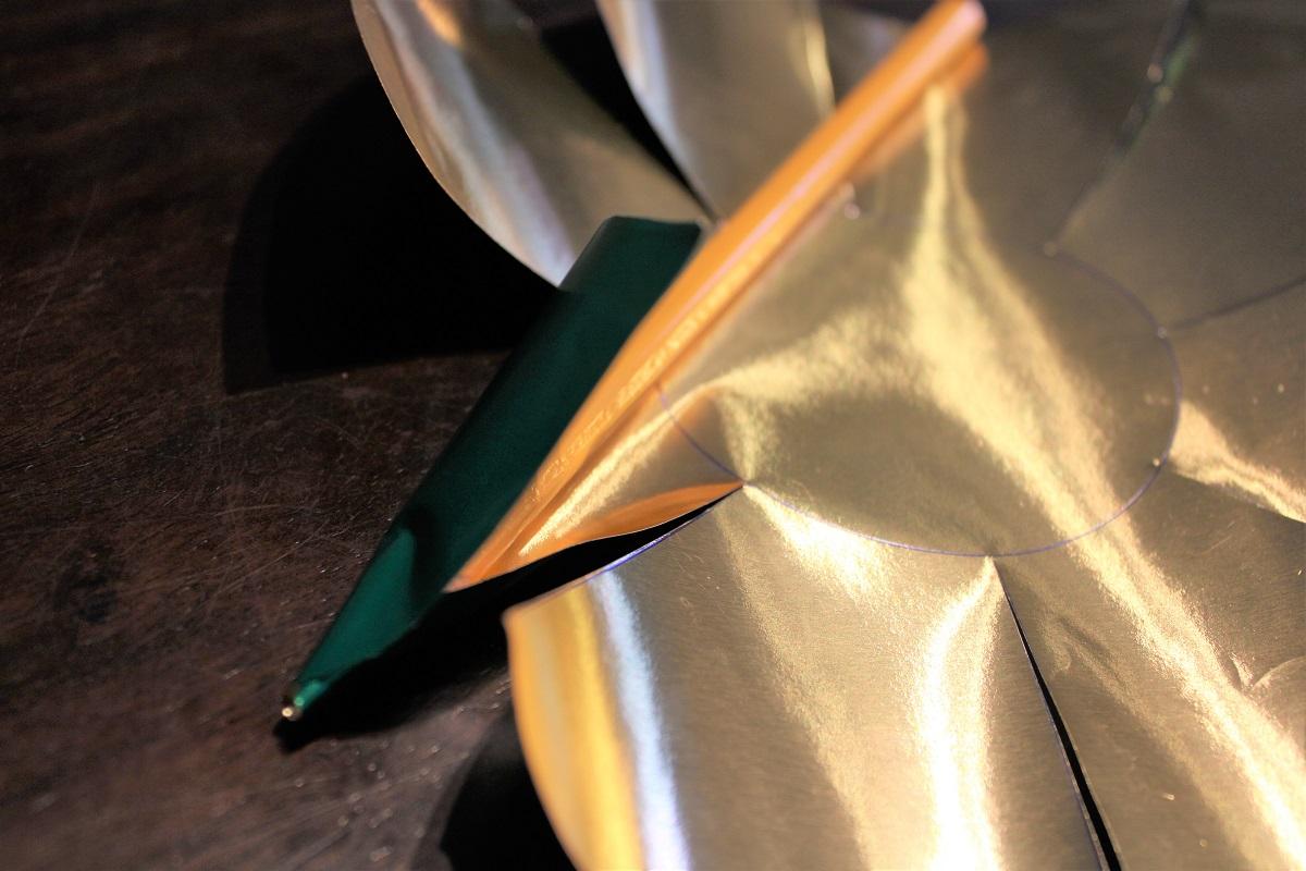 DIY 3D Kerstster theelichthouder ster maken