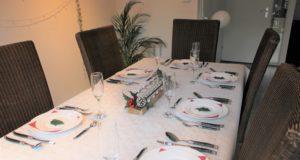 Extra feestelijk aan tafel tijdens de feestdagen