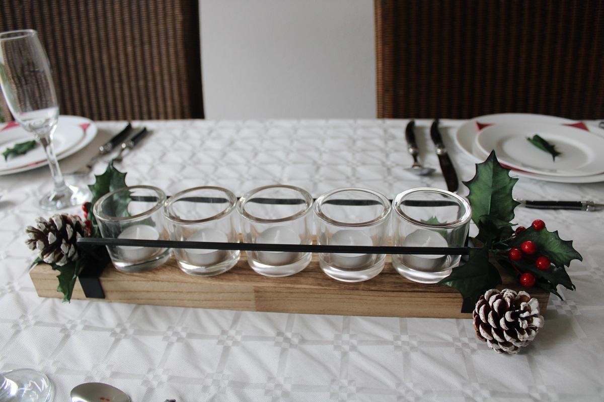 Extra feestelijk aan tafel tijdens de feestdagen tafeldecoratie