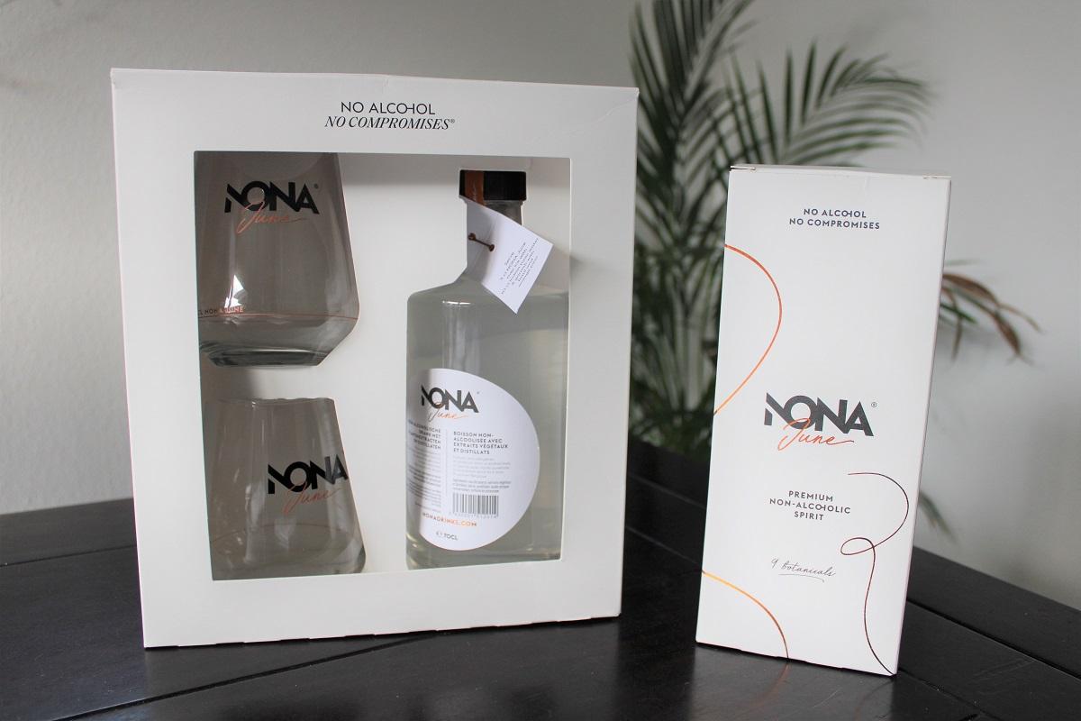 NONA June alcoholvrije gin voor de feestdagen pakketten