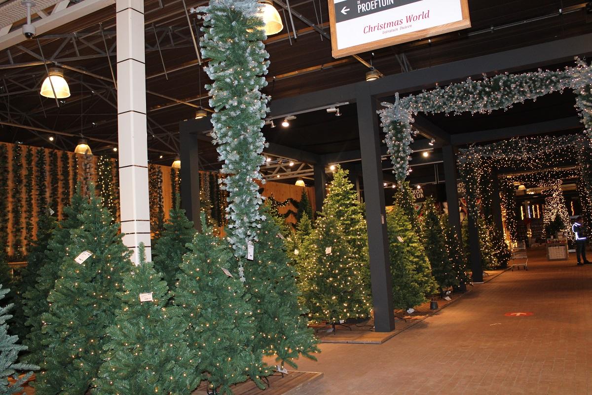 De Kerstshow van Intratuin Duiven 2020 kerstbomen