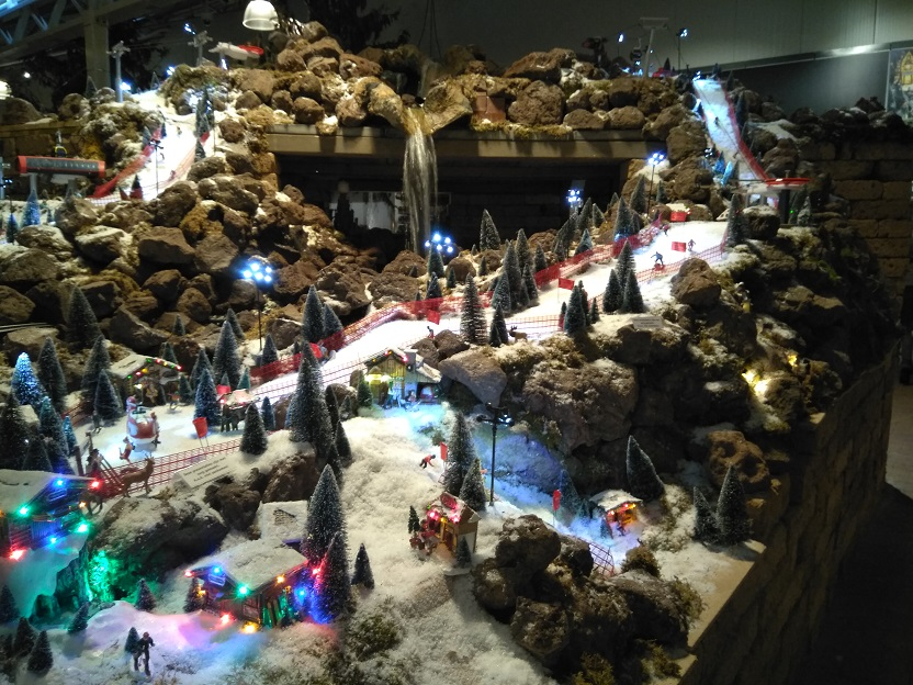 De Kerstshow van Intratuin Duiven 2020 kerstdorp