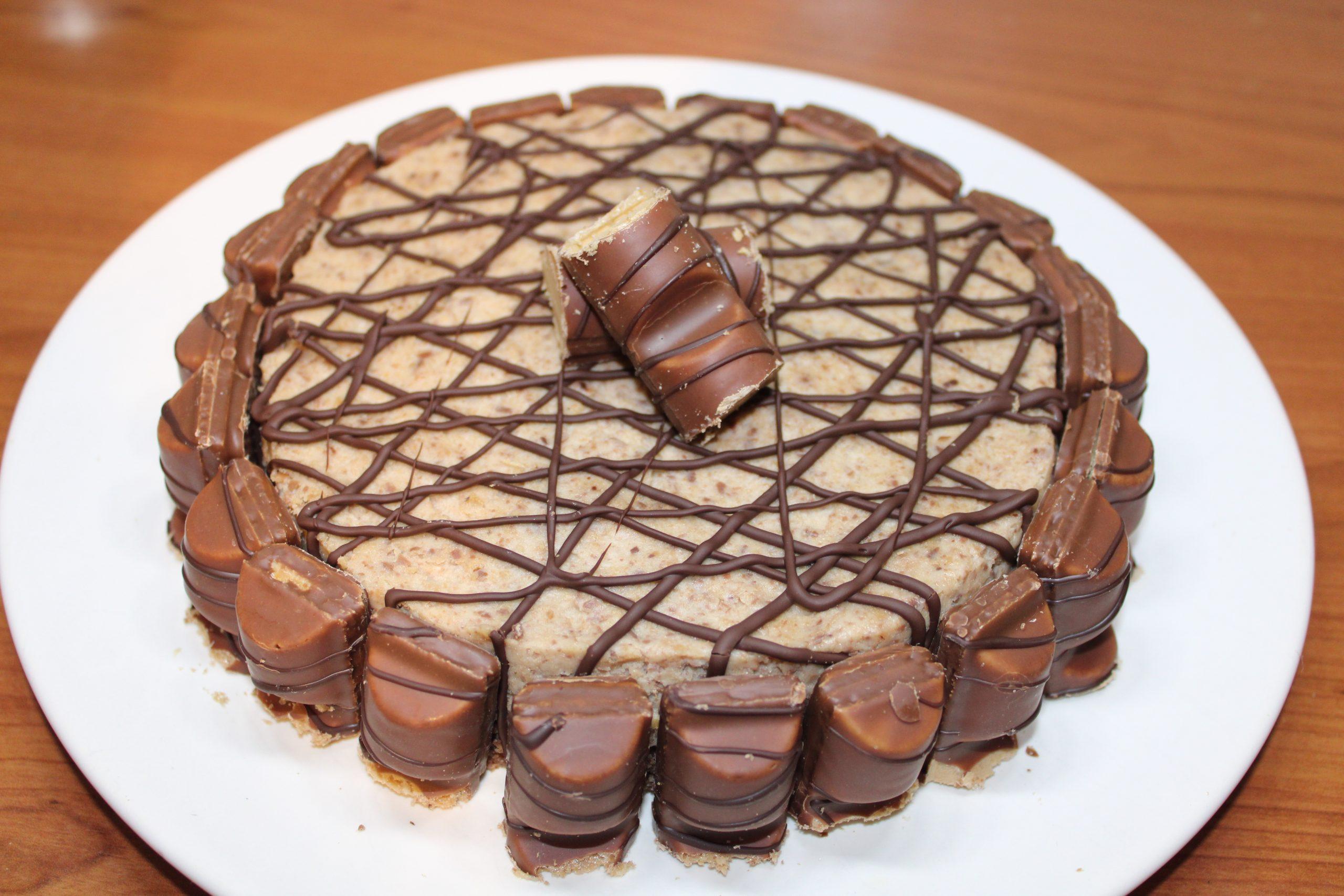 Recept Bueno taart no bake