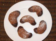 Recept chocolade koekjes halve maantjes