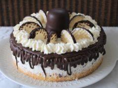 Choco zoenen taart recept