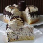 Choco zoenen taart recept taartstukje