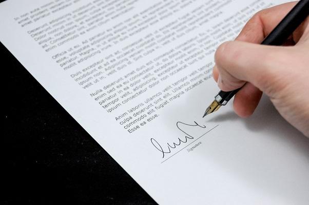 Wat zegt jouw handschrift over jou en je gezondheid handtekening