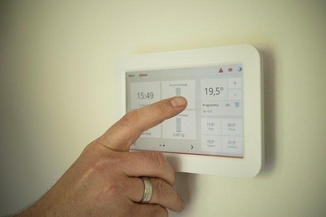 Energie besparen verwarming in huis temperatuur