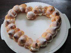 Valentijnsdag recept soesjes hartje