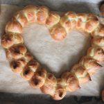 Valentijnsdag recept soesjes hartje gebakken