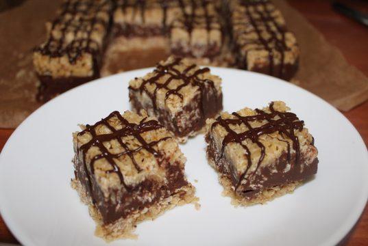 No bake chocolade oat bar 1