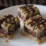 No bake chocolade oat bar