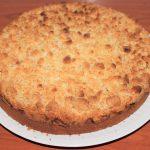 Recept peren kruimeltaart cake