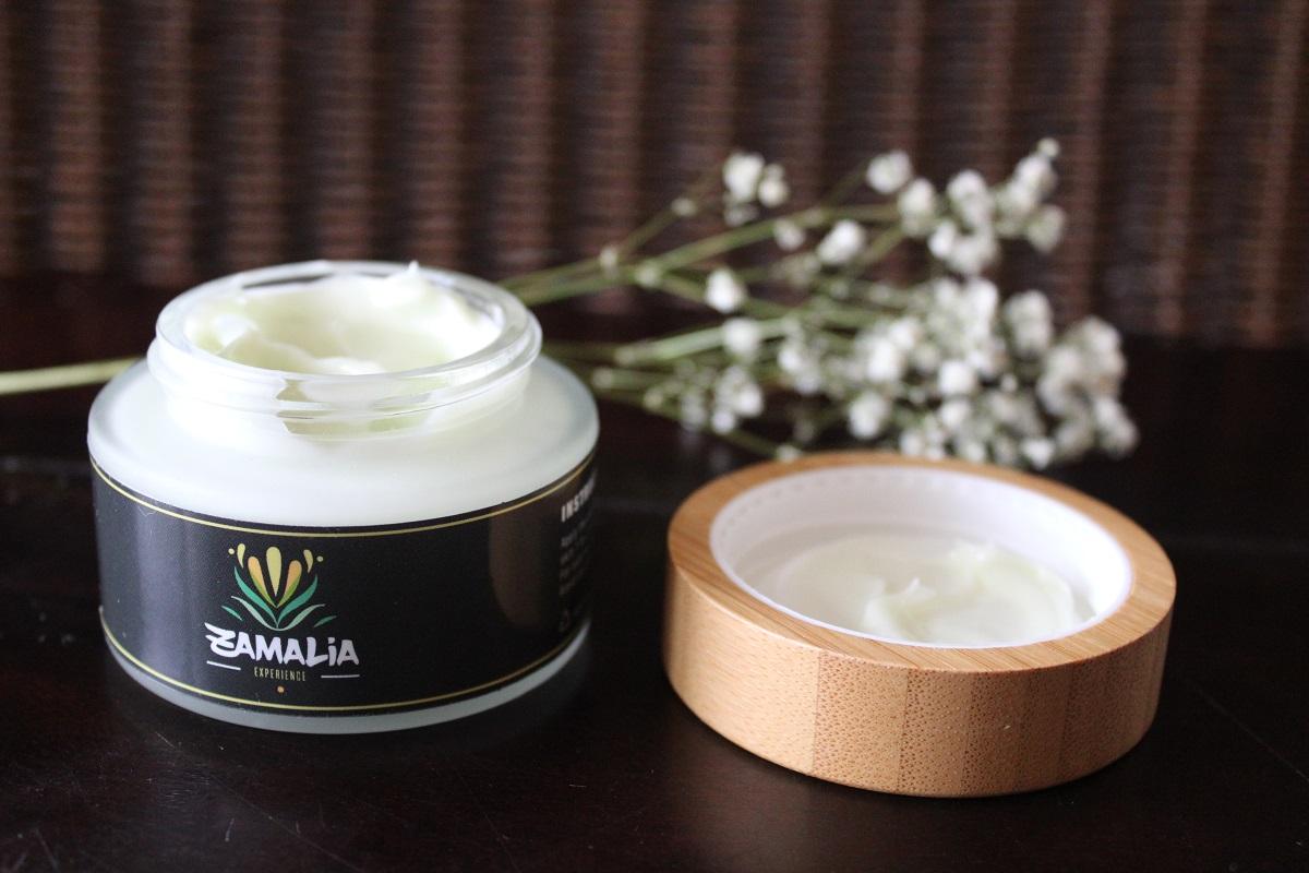Zamalia-Experience CBD producten die een gezonde levensstijl ondersteunen creme