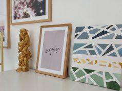 DIY abstracte schilderijen