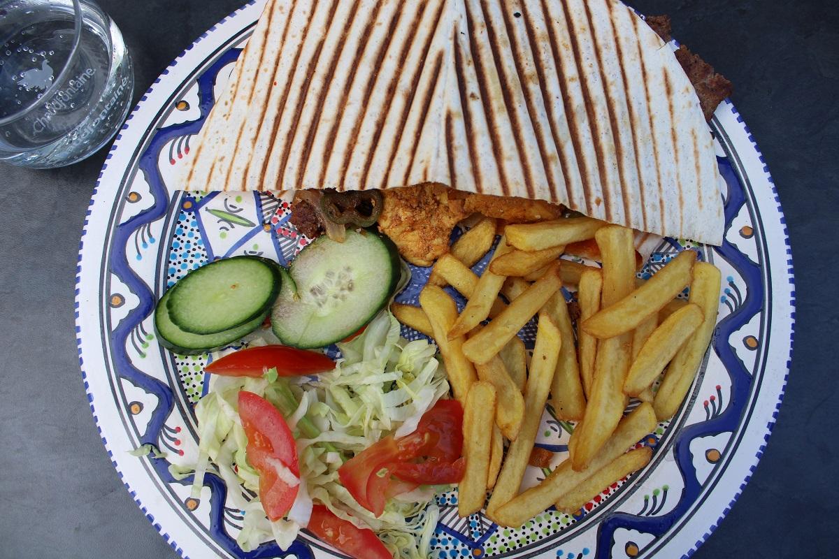 Uit eten bij Multifood in Arnhem grillmix