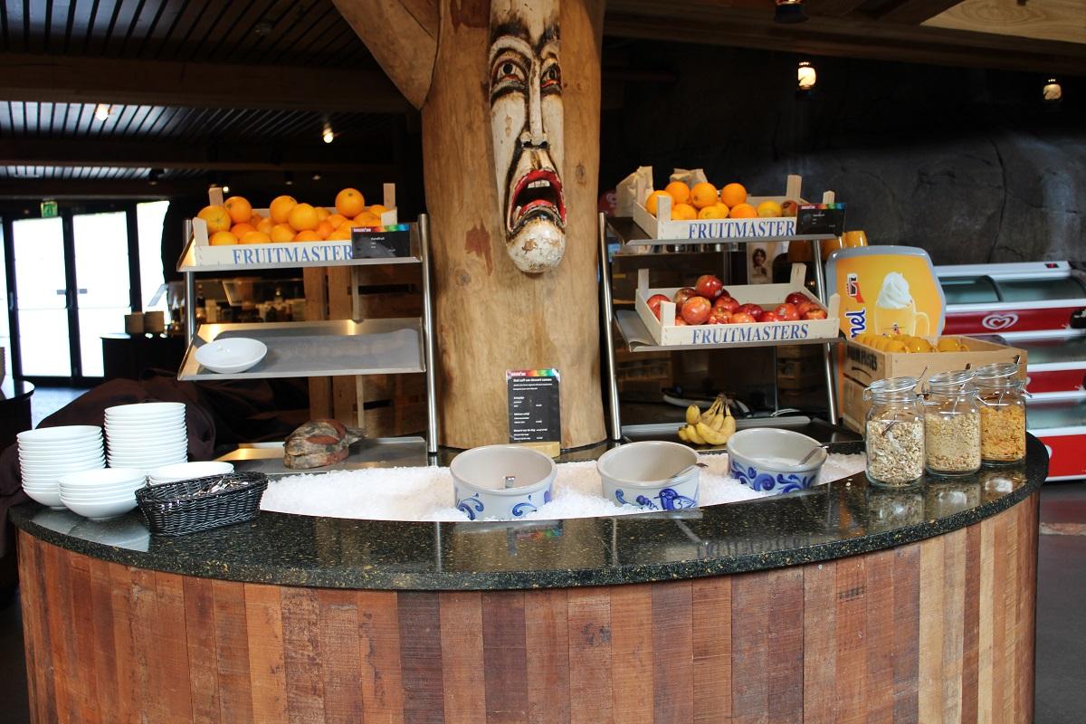 Burgers' Zoo Camp overnachten in de dierentuin ontbijtbuffet