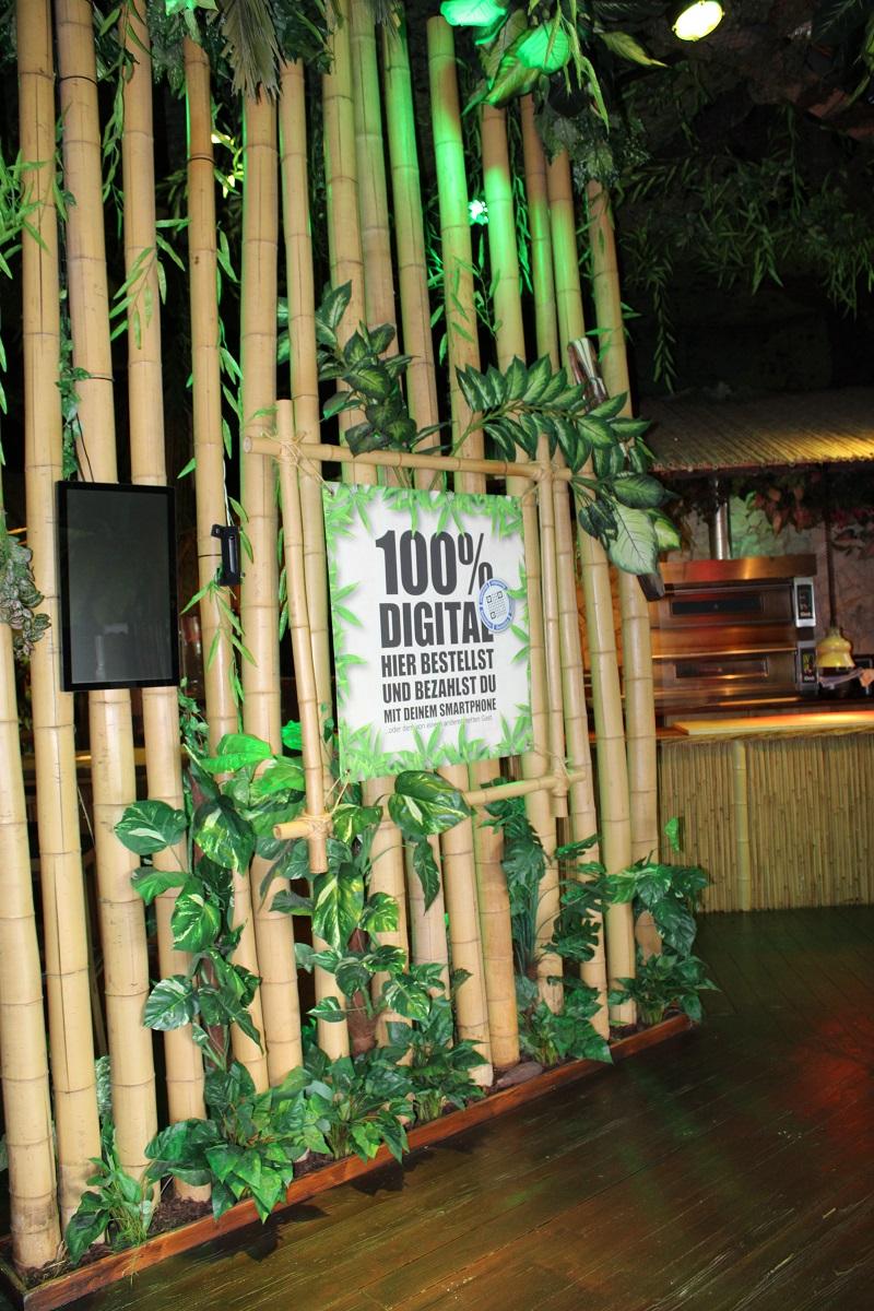 Lekker eten en vermaak voor de kinderen bij BamBoo Beach Club in Ahaus digitaal bestellen