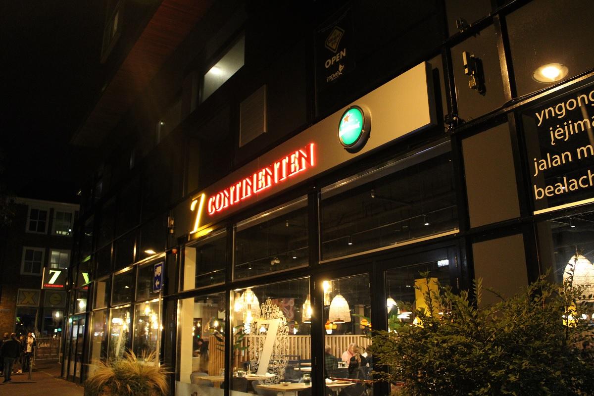 7 continenten ede buitenkant restaurant