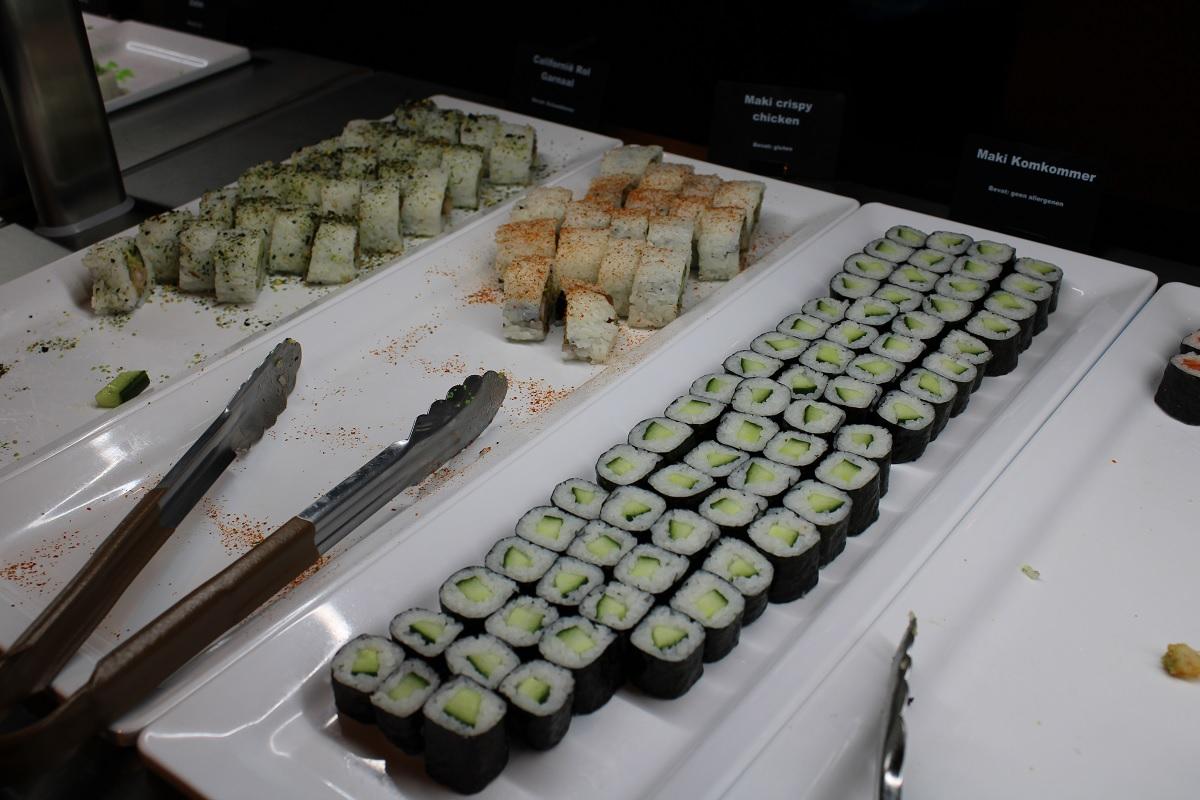 Een culinaire reis over de 7 continenten in Nederland sushi. jpg