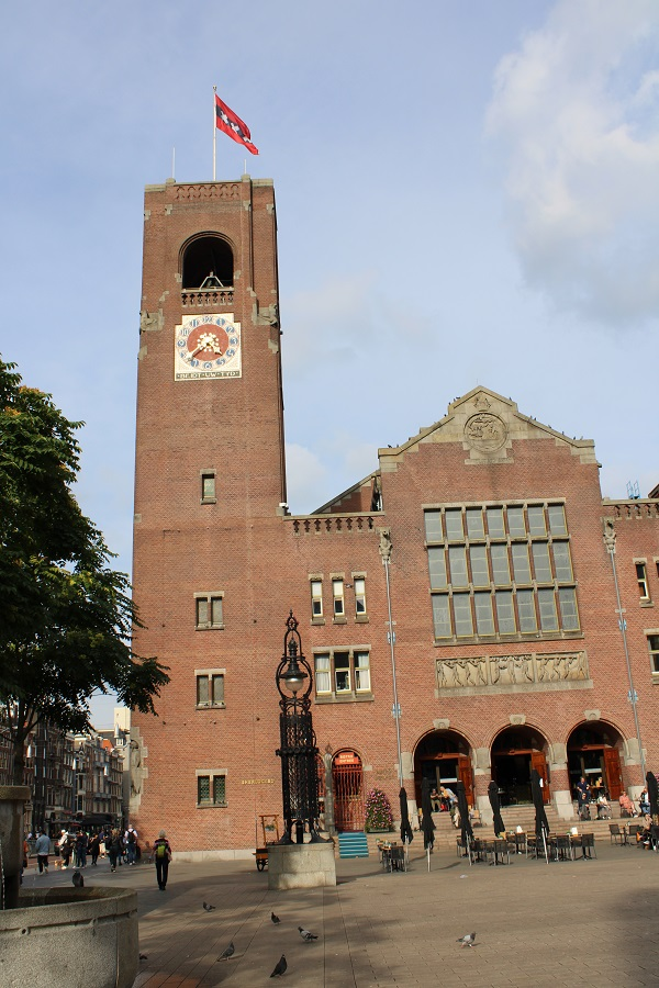 Lunchtip Amsterdam Bistro Berlage gebouw