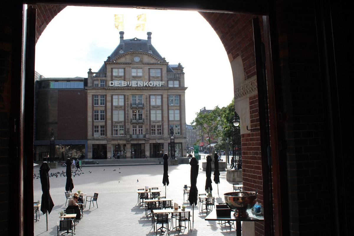 Lunchtip Amsterdam Bistro Berlage terras